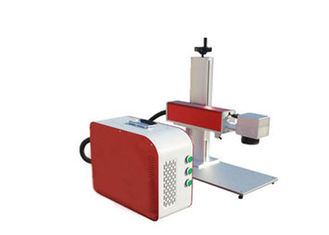 China FLMM-B01 Portable Laser Marking Machine 100X100MM Raycus For Steel supplier