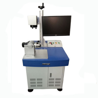 China 30W Laser Marking Equipment 20KHz ~ 30KHz Repeating Frequency 570mmx270mmx200mm Size supplier