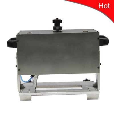 China Small Size Low Noise Dot Pin Marking Machine Dot Peen Engraver For Pipe Flange supplier