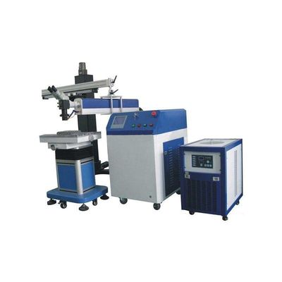 China Humanized Design Boom Mold Repairing Spot Welding Machine With Stainless Steel Table distributor