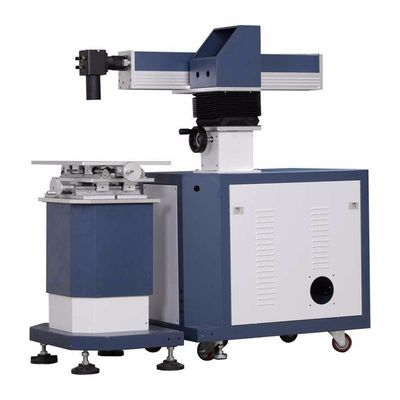 China 400 Watt Automatic Fiber Laser Welding Machine Metal Stainless Jewelry distributor