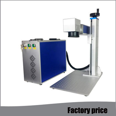 China Metal Fiber Mini Laser Marking Machine EZCAD Software Low Power Consumption distributor