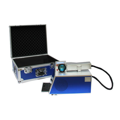 China Hand Held Metal Marking Machine With Free Software , Great Performance distributor