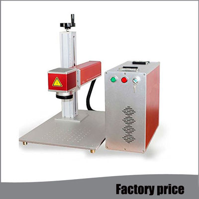 China Optical Fiber Laser Marking Machine , Laser Marking Equipment Higher Precision distributor